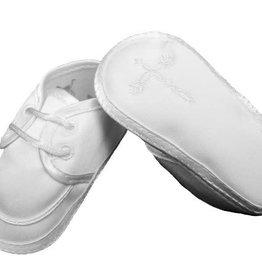Satin w/Emb Cross Shoe