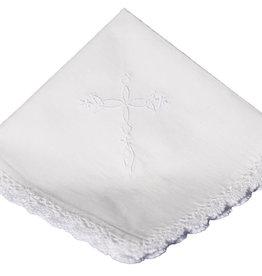 Cotton Embroidered Cross Hankie