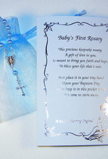 Baby's First Rosary Blue