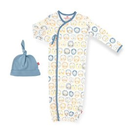 Magnetic Baby Mane Event Magnetic Gown w/hat