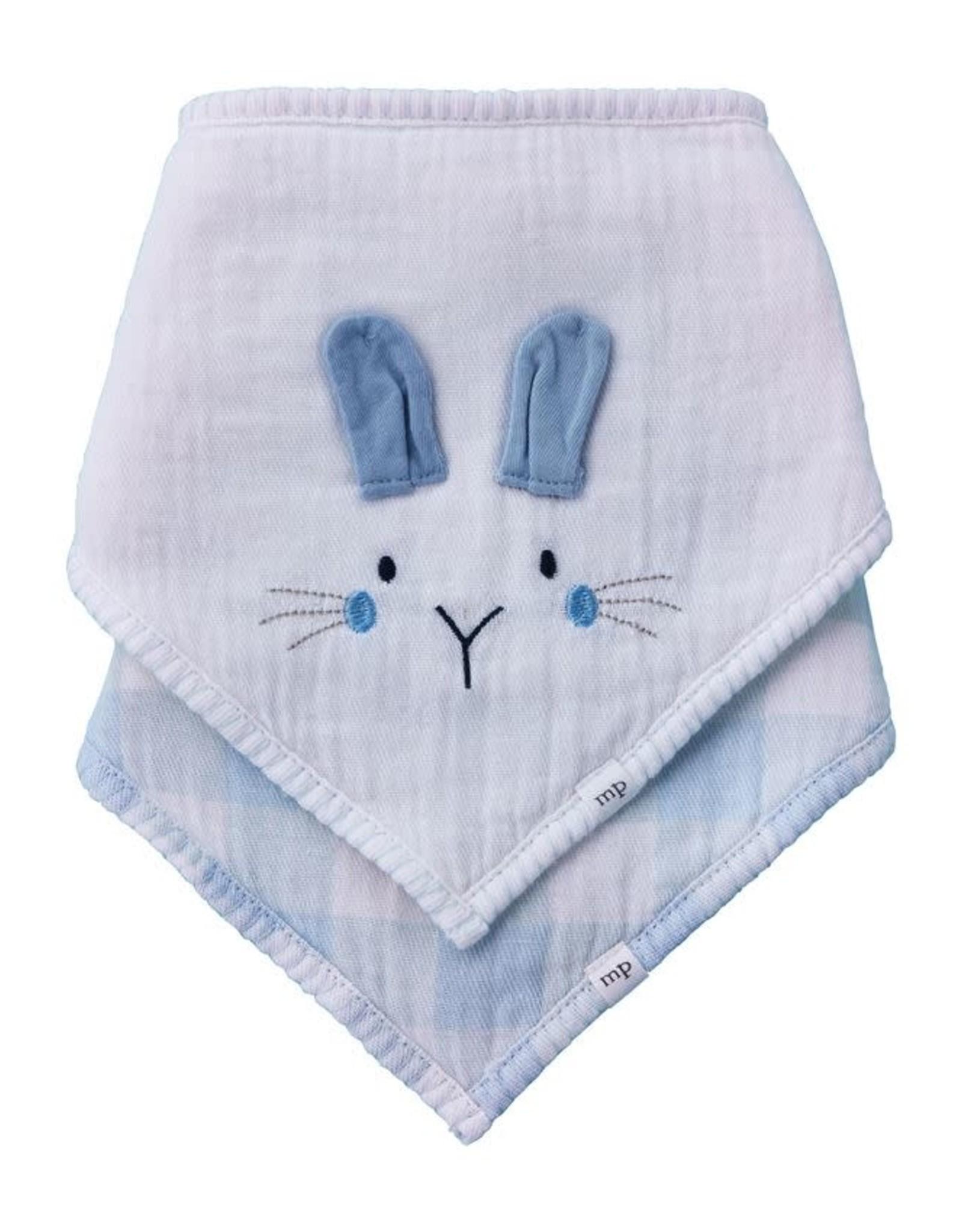Blue Bunny Bib