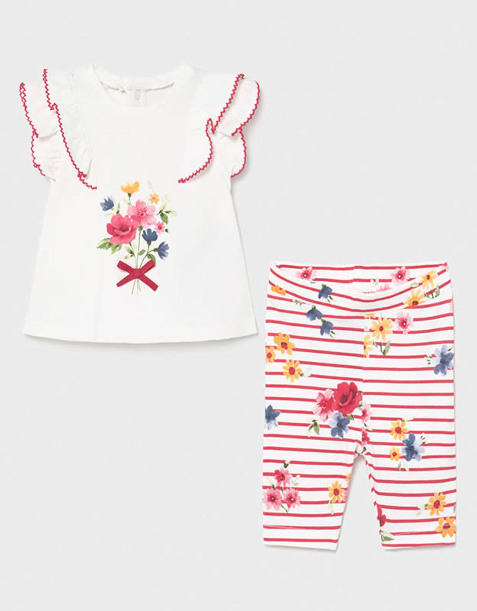 Ruffled Shirt/leggings set