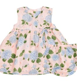 Hydrangea Kimono Dress