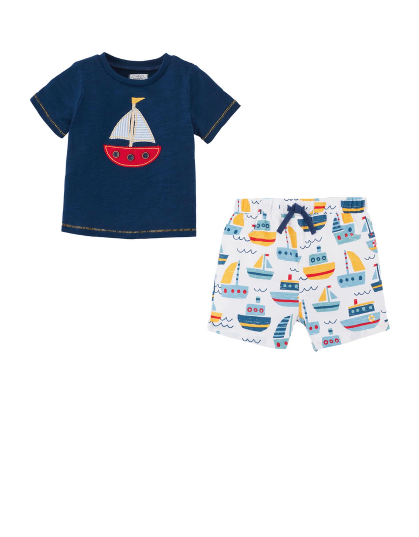 Sailboat Short set