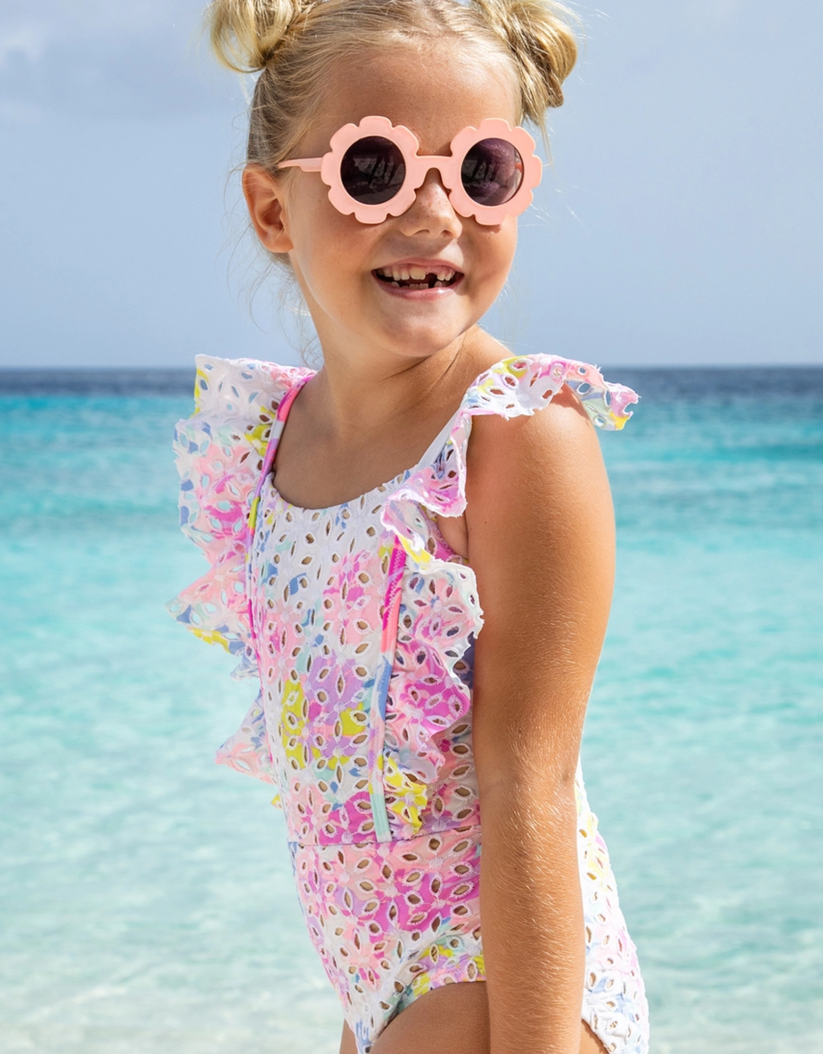 Shade Critters Floral Eyelet