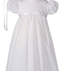 Cotton w/Lace Collar Gown