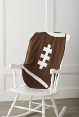 Chenille Football Blanket