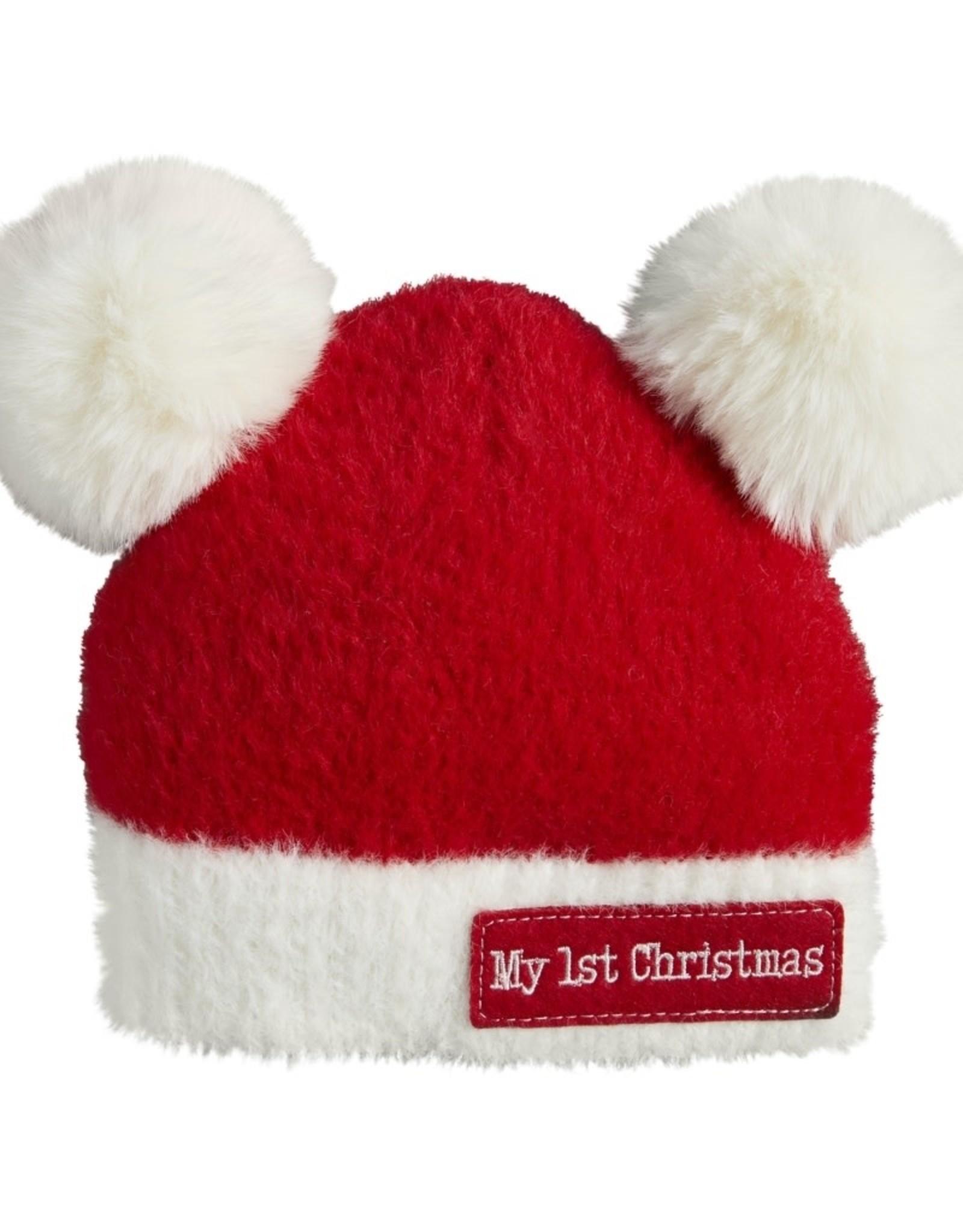 Pom Pom Christmas Hat