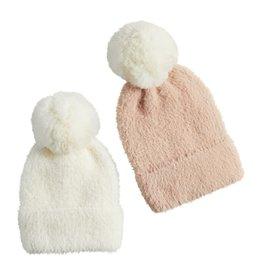 Pom Pom Fuzzy Hats