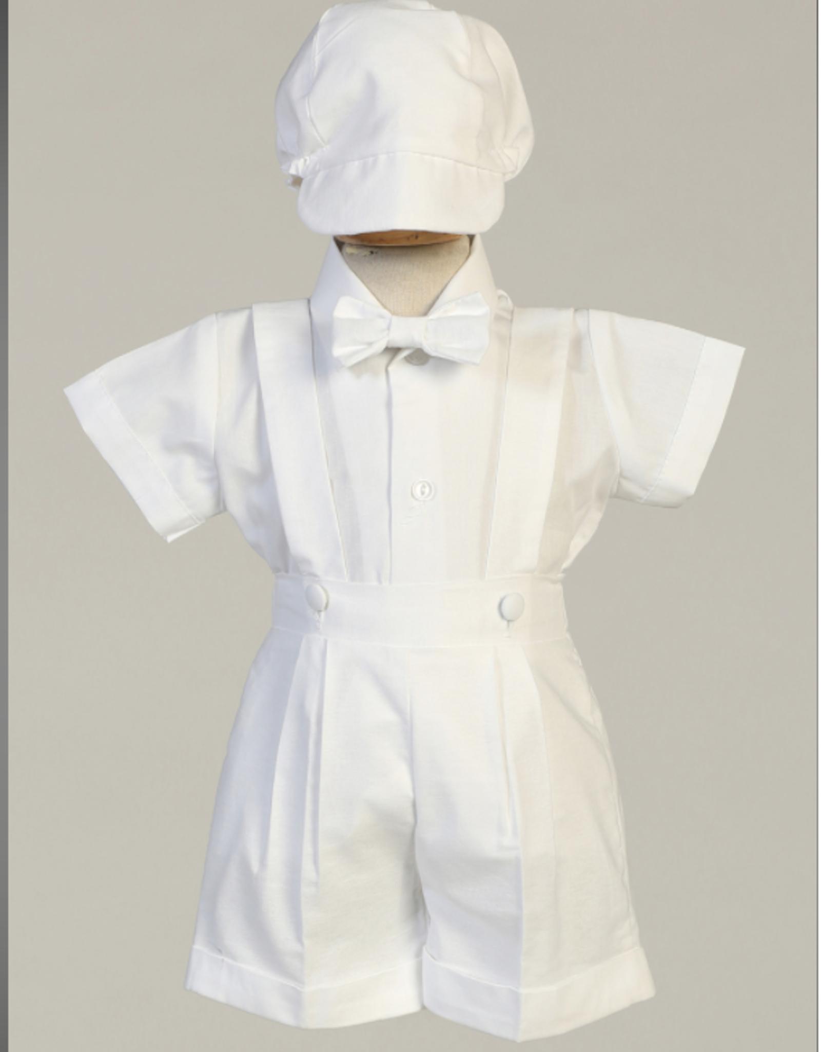 Swea Pea & Lilli Cotton Oxford Suspender Short Set