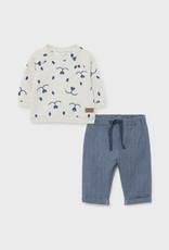 Fleece Trousers Set