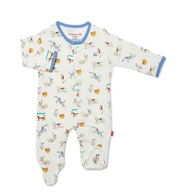 Magnificent Baby Howlarious Magnetic Footie 6-9m