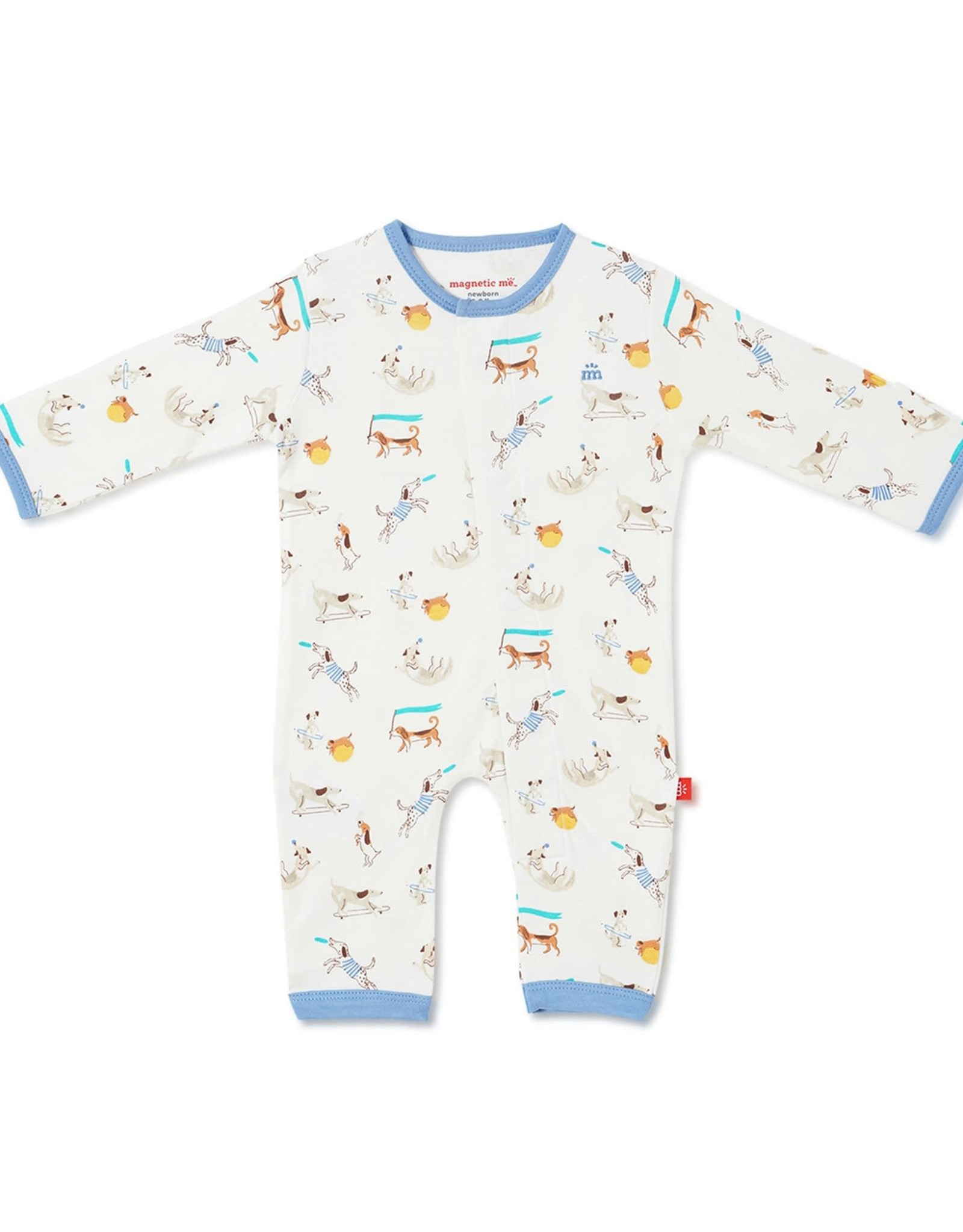 Magnificent Baby Howlarious Magnetic Coverall