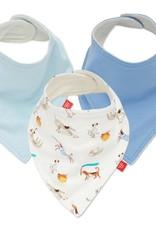 Magnificent Baby Howlarious 3 pack Bandana Bibs