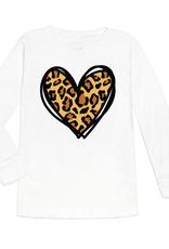 Leopard Heart L/S Shirt