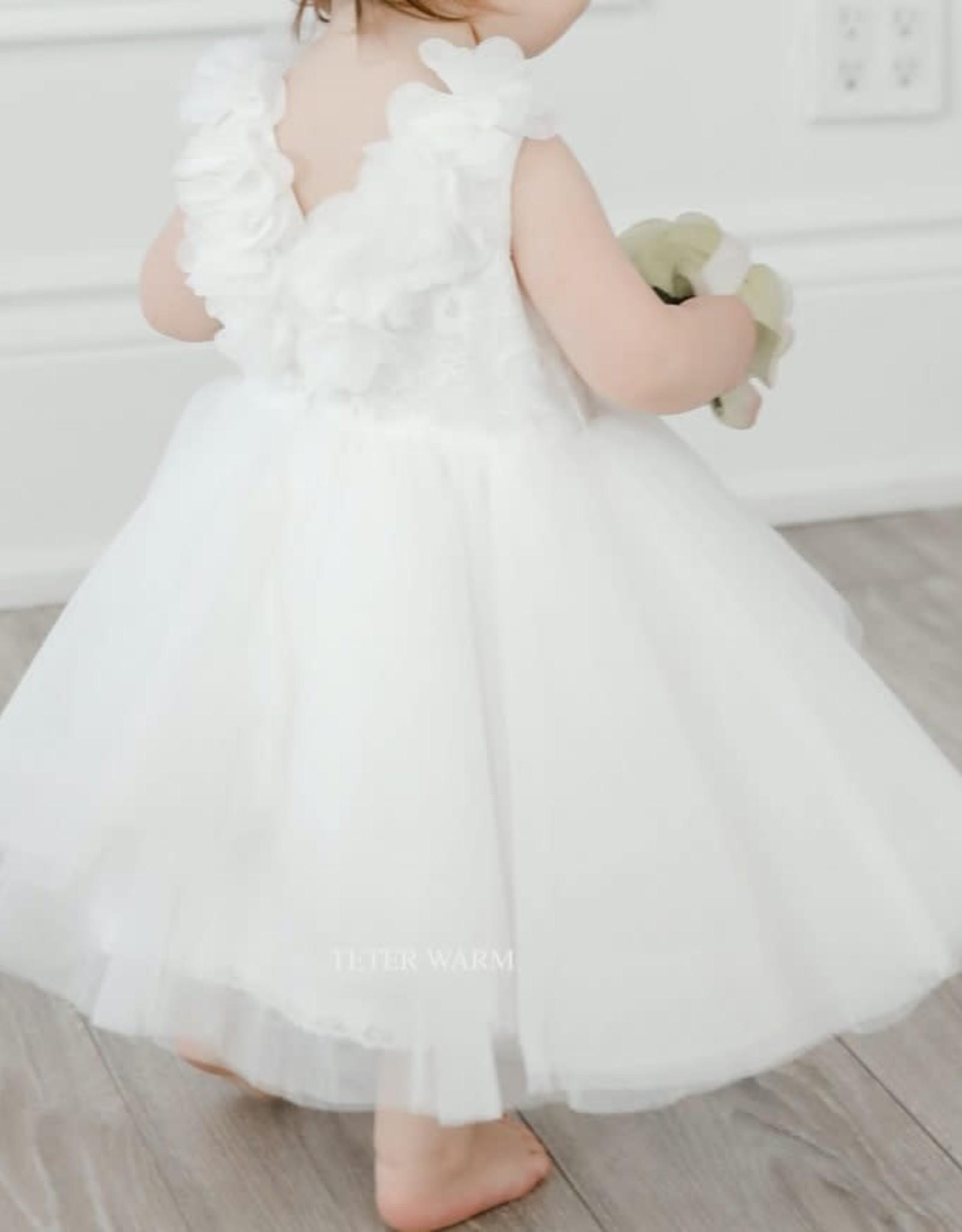 Teter Warm Flower V-Back Dress