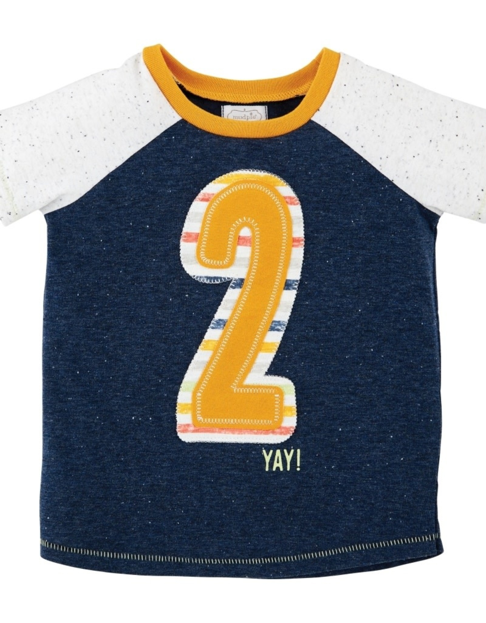 2 Birthday Shirt 24m/2t