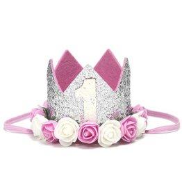 Silver Flower Crown #1