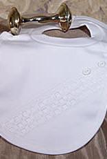 Cotton Windowpane Bib