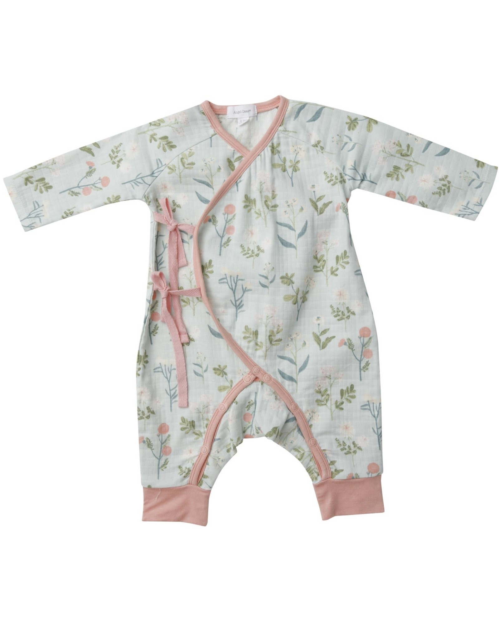 Meadow Floral Wrap Coverall