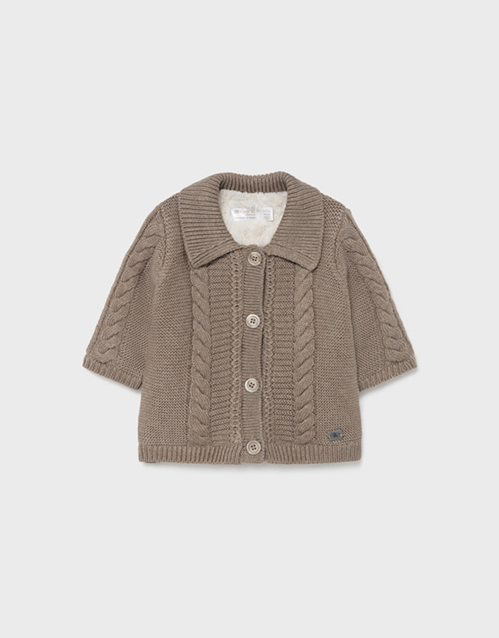 Knit/Fur Cardigan