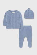 3 pc Knit Set Cloud Blue