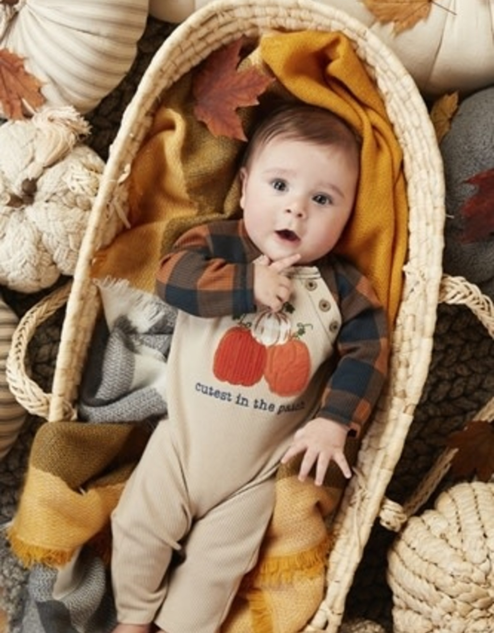 Cutest Pumpkin in the Patch Coverall