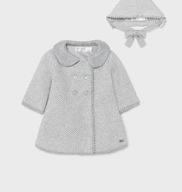 Knitted Coat w/bonnet