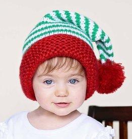Huggalugs Peppermint Twist Knit Hat