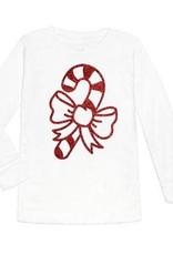 Candy Cane L/S Shirt Tod