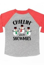 Chillin with my snowmies l/s