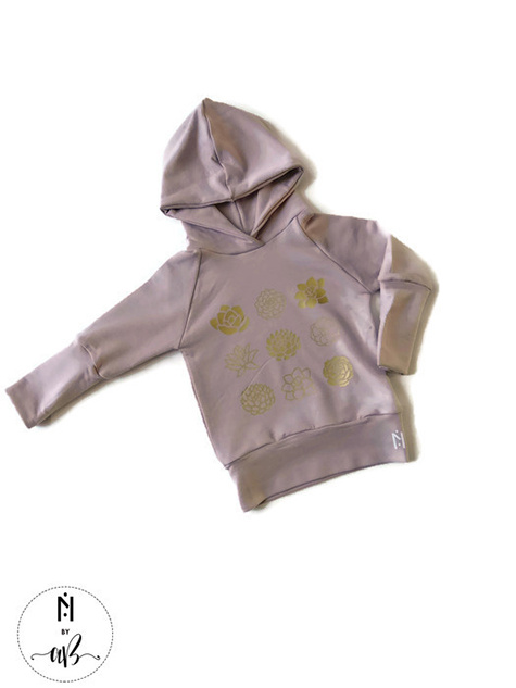 Norskin Nörskin Collection - Hoodie Rose et or 3-12 mois