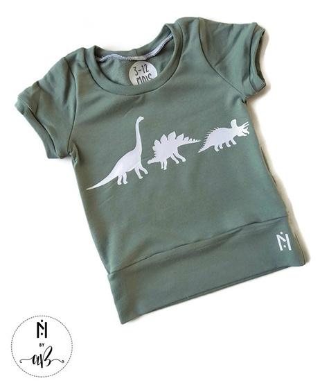 Norskin Nörskin Collection - T-Shirt Vert Dino 3-12 mois