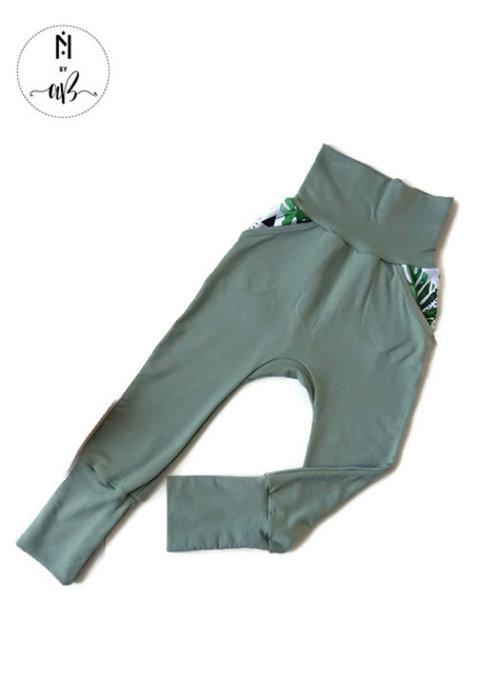 Collection Nörskin Nörskin Collection - Pantalon Vert 3-6 ans