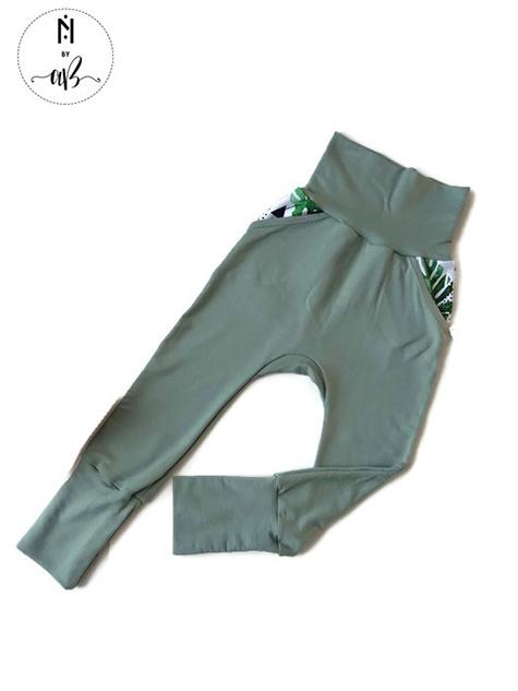 Norskin Nörskin Collection - Pantalon Vert 3-6 ans