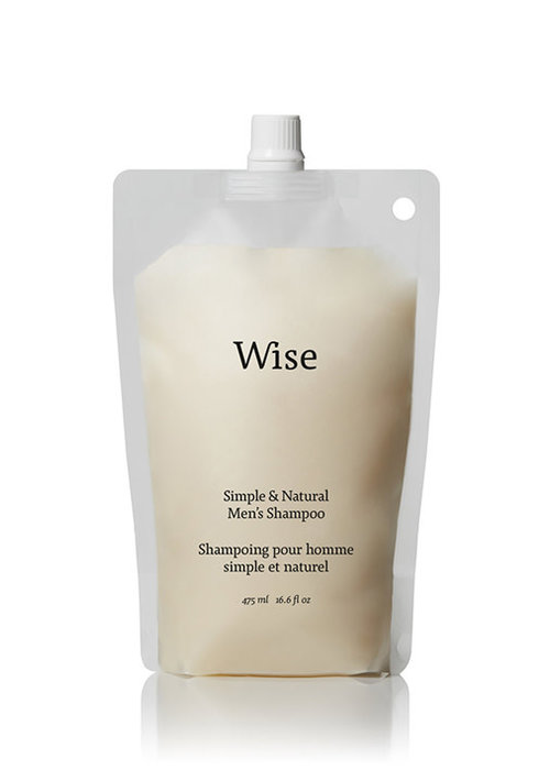 Wise Wise - shampoing écorce de boulot recharge 475ml