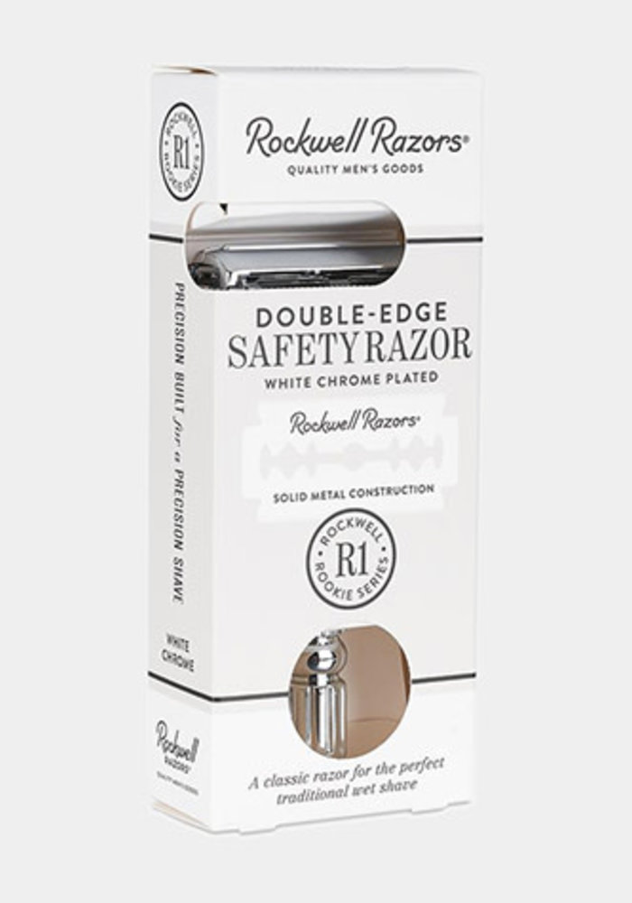 Rockwell Razors - R1 Rookie - White Chrome