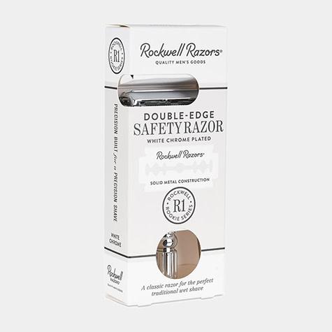 Rockwell Razors Rockwell Razors - R1 Rookie - White Chrome