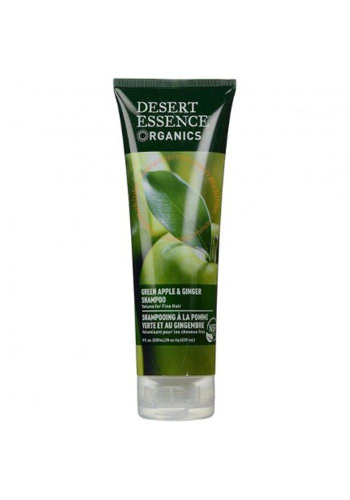 Desert Essence - Shampoing - Pomme verte et gingembre 237 ml