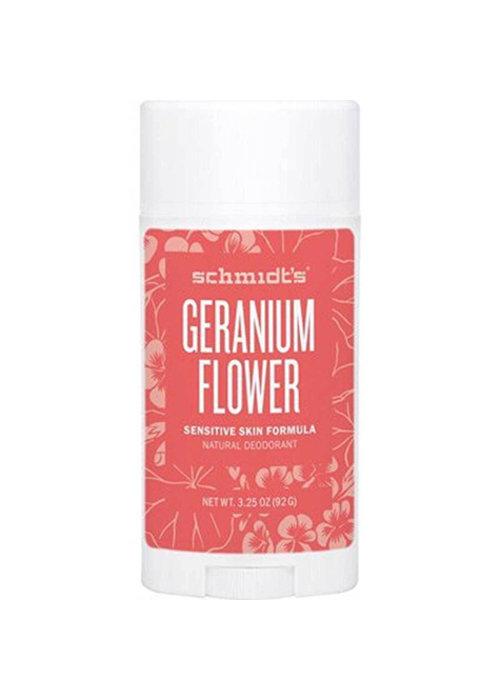 Schmidt Schmidt - Déodorant Fleur de Géranium Peaux Sensibles