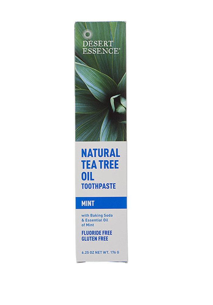 Desert Essence - Dentifrice huile de Tea tree avec menthe 176g