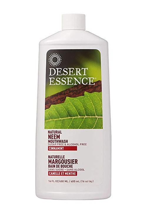 Desert Essence Desert Essence - Rince bouche - Margousier, Canelle et Menthe 473 ml