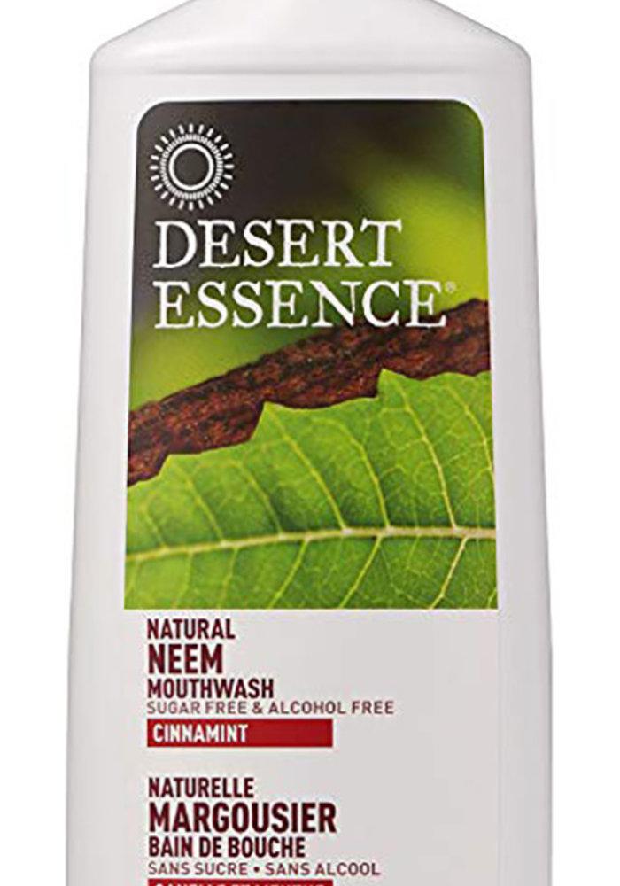 Desert Essence - Rince bouche - Margousier, Canelle et Menthe 473 ml