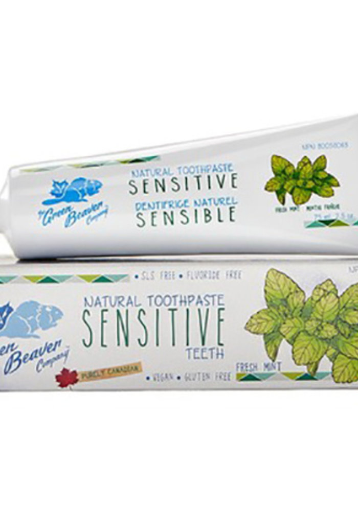 Green Beaver - Dentifrice Dent Sensible 75 ml