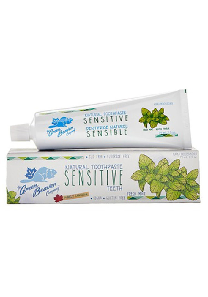 Green Beaver - Dentifrice Dent Sensible 75 ml