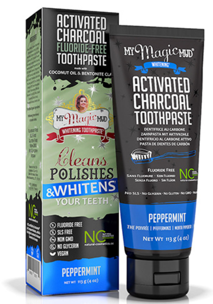 My Magic Mud - Dentifrice Blanchissant 113g - Menthe Poivrée
