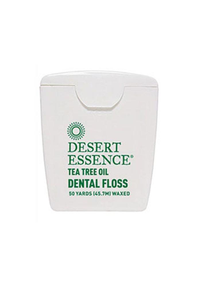 Desert Essence - Soie Dentaire - Tea tree 45.7 mètre