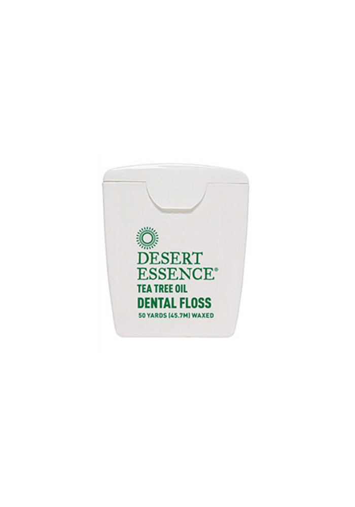 Desert Essence - Soie Dentaire - Tea tree 45.7 mètre