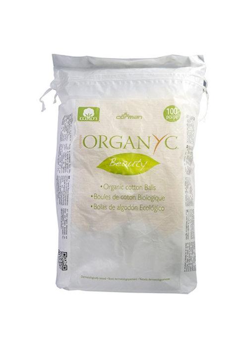 Organyc Organyc - Boules de coton biologique 100 pcs