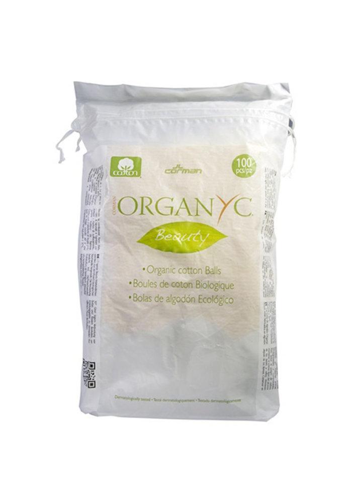 Organyc - Boules de coton biologique  100 pcs